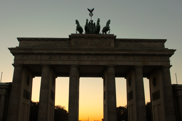 Brandenburg Gate, still there.